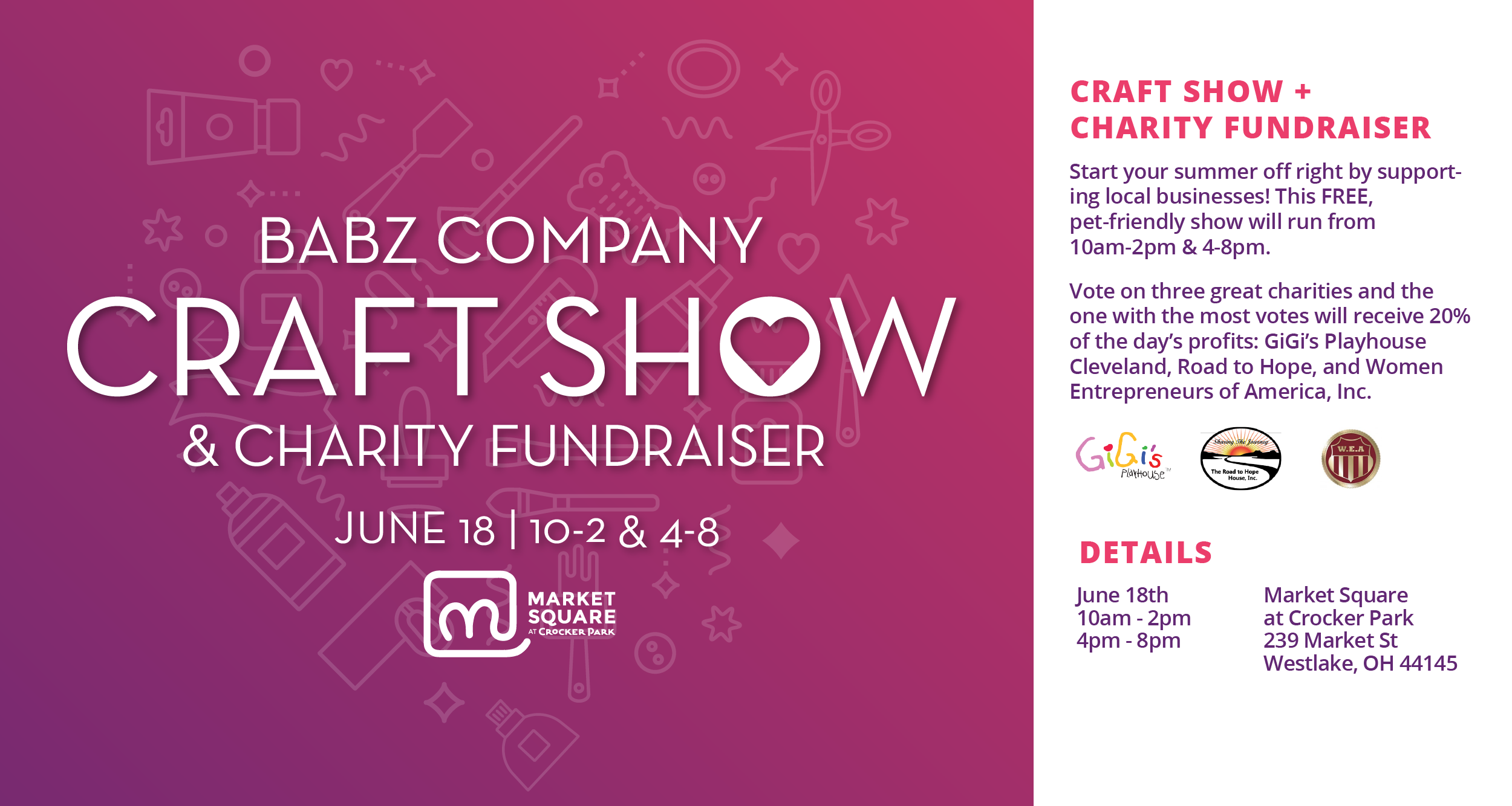 Craft Show & Charity Fundraiser