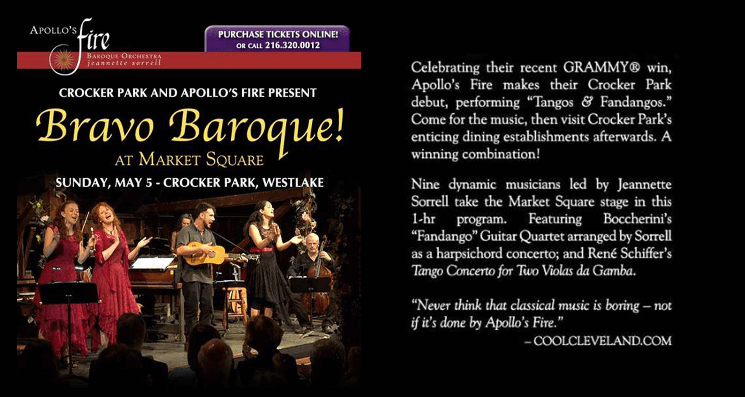 Apollo's Fire The Cleveland Baroque Orchestra