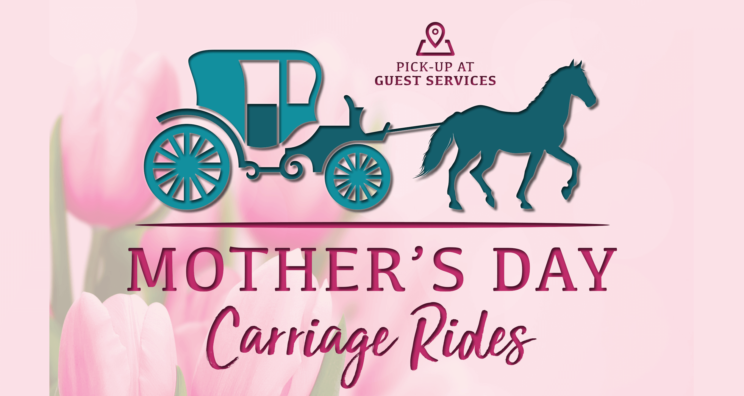 Mother's Day Carriage Rides