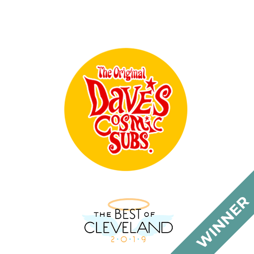 Dave's Cosmic Subs Best of Cleveland